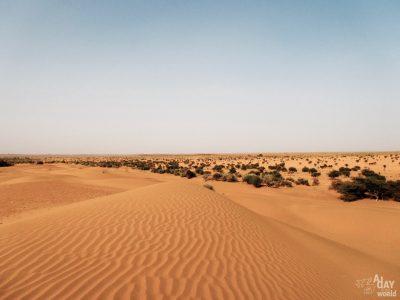 Le désert de Khuri, à la frontière du Pakistan