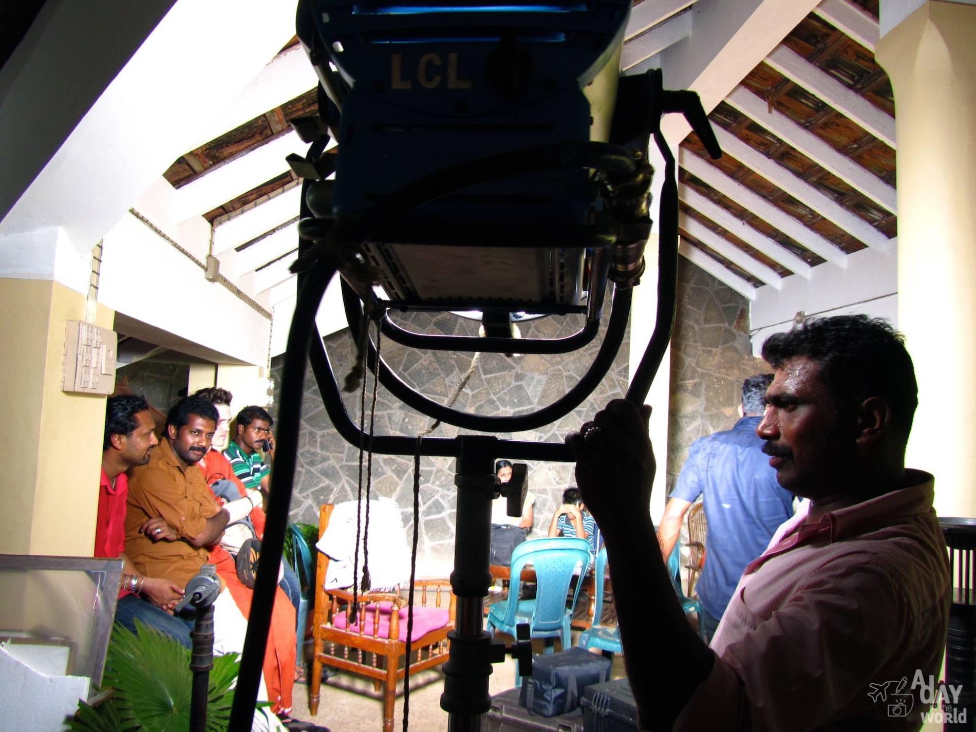 tournage film indien