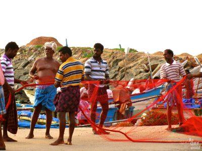 Kanyakumari, la pointe sud de l'Inde