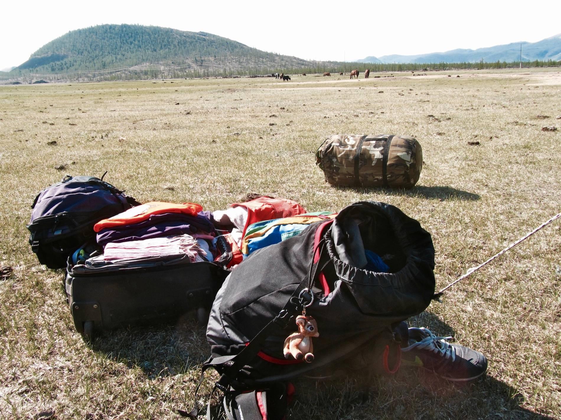 backpacker mongolie