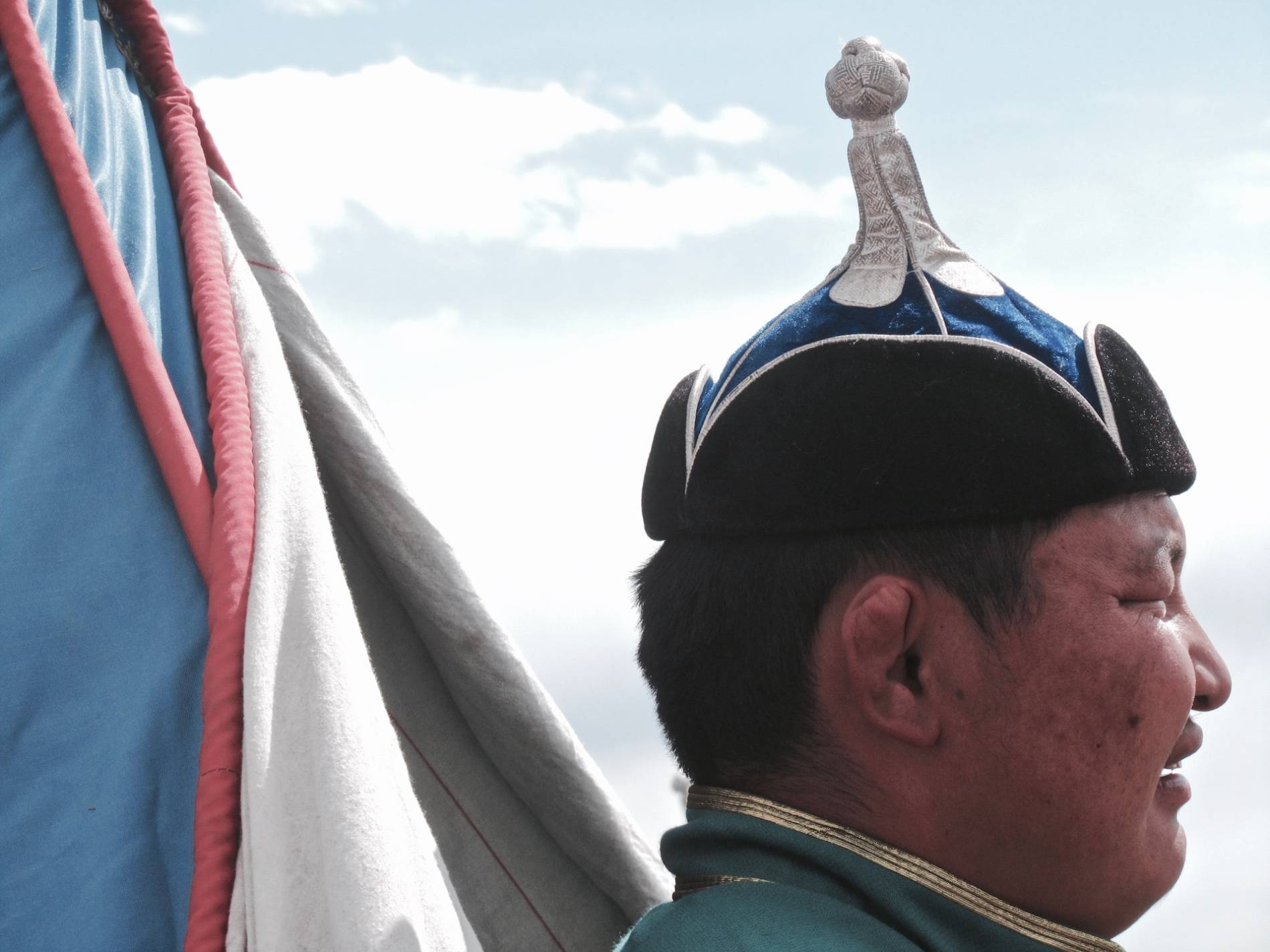 casque lutte mongole