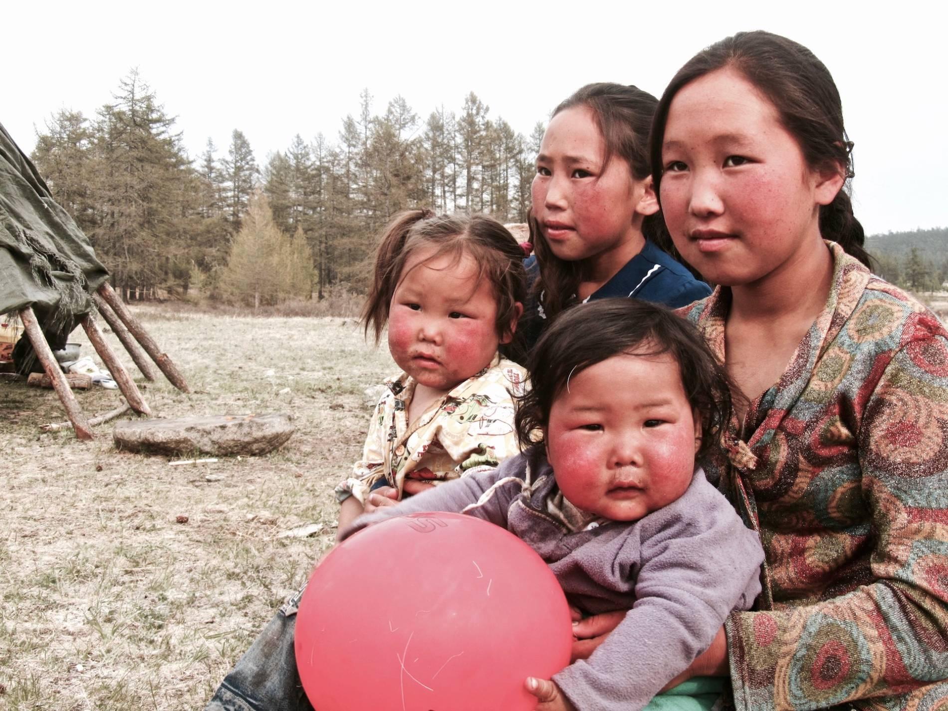 eleveurs de rennes mongolie