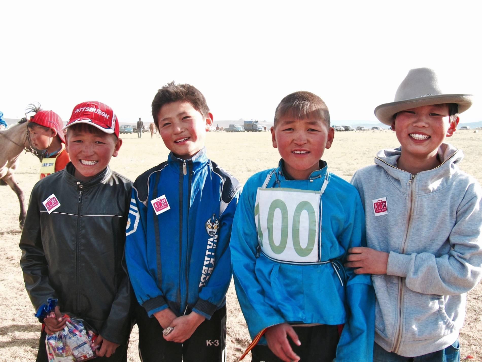 enfant mongolie
