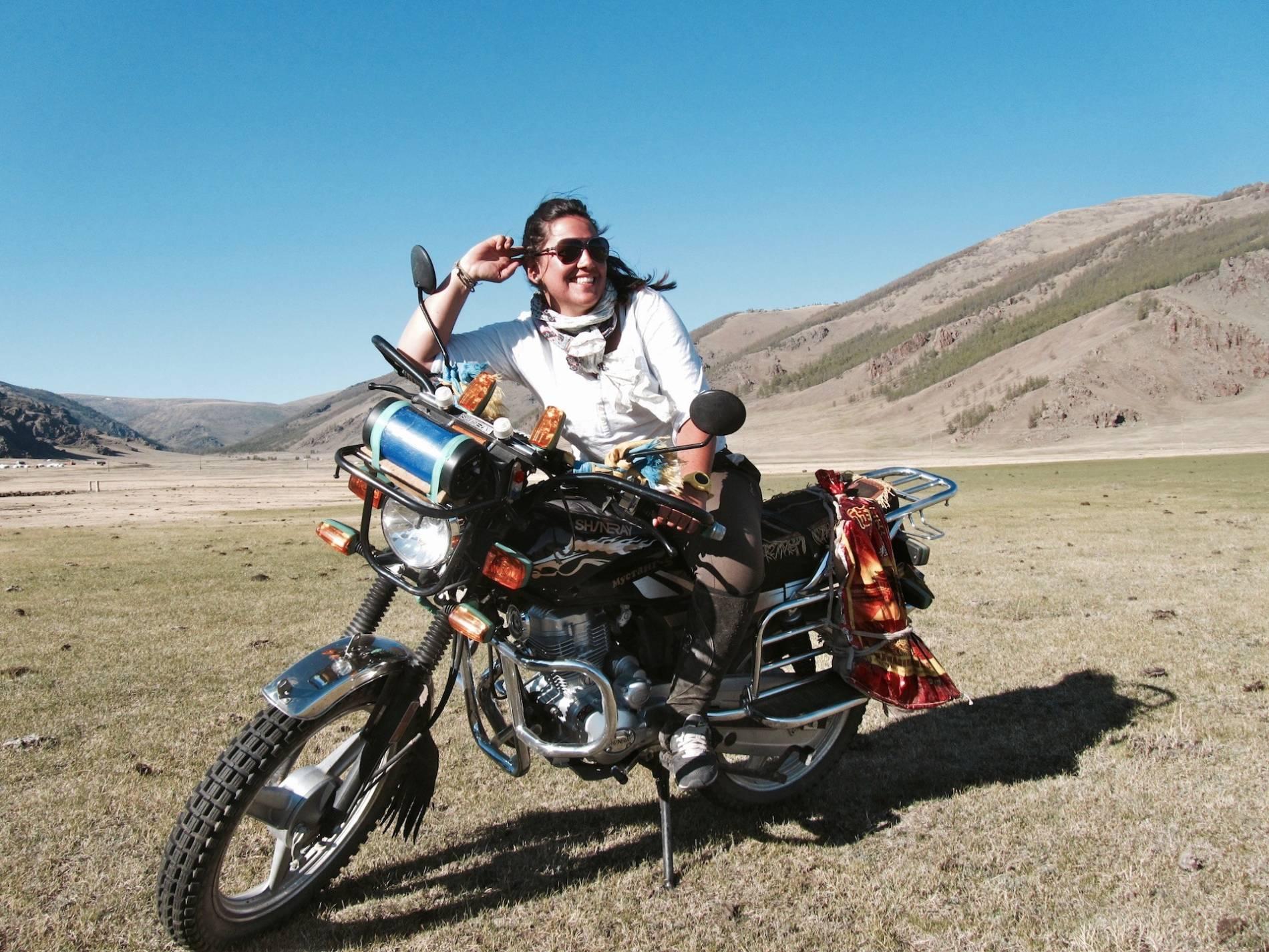 moto disco mongolie