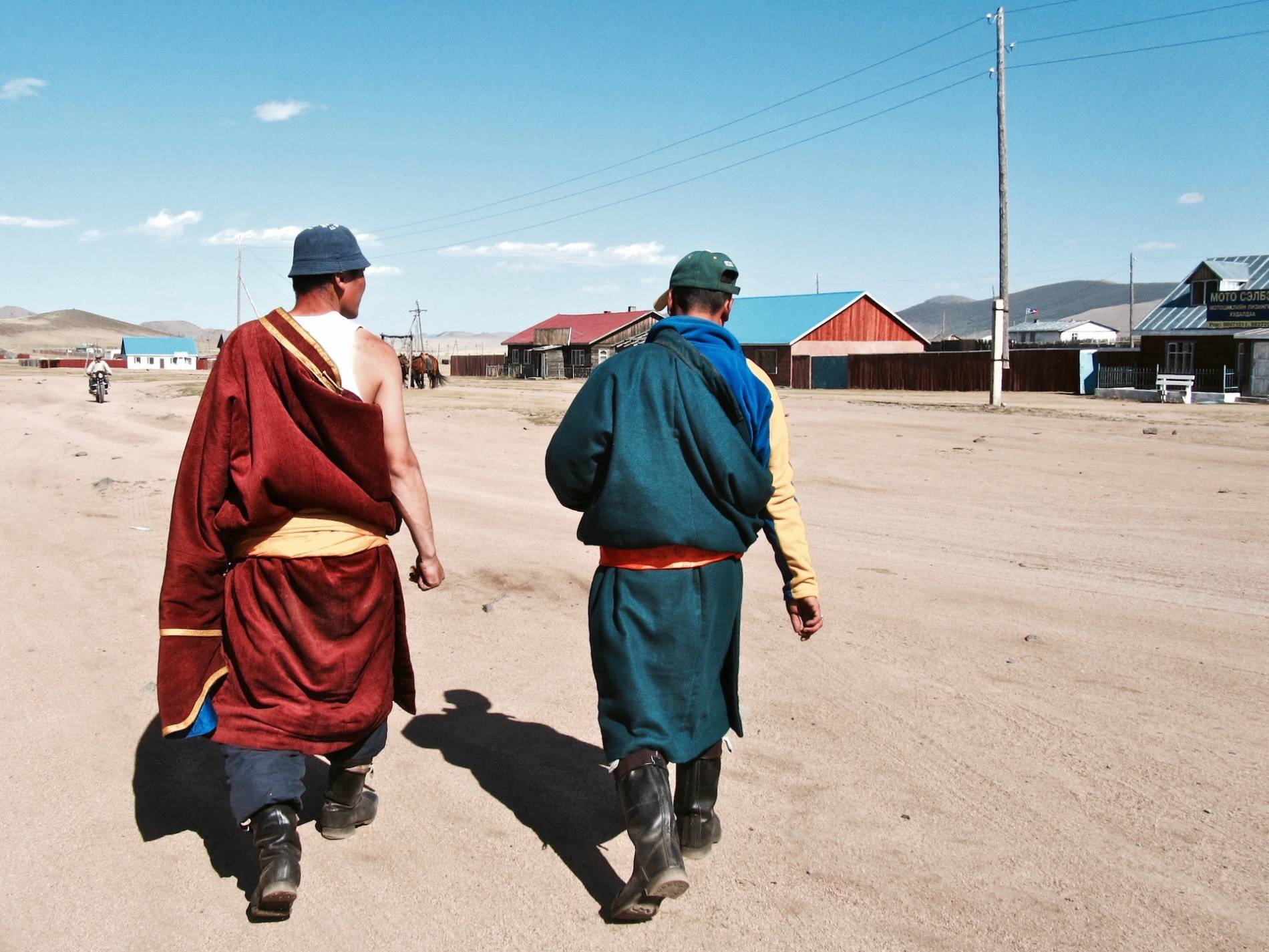 tenue mongole