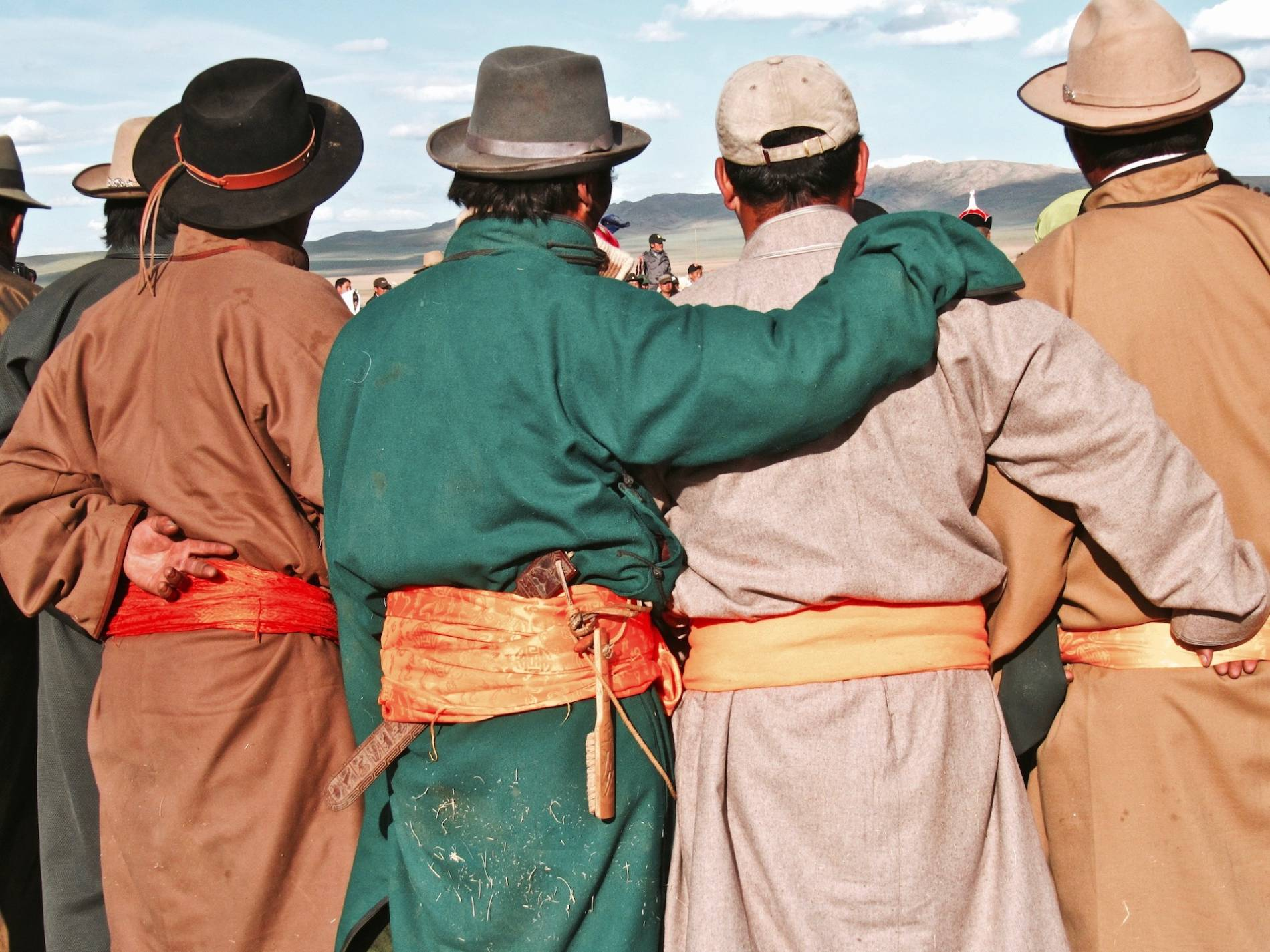 tenue traditionnelle mongolie