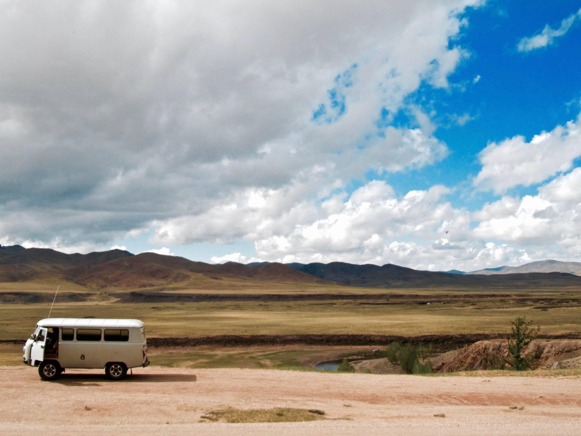 van mongolie