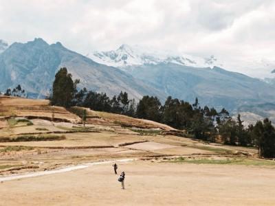 Huascaran dans la Cordillère des Andes Pérou