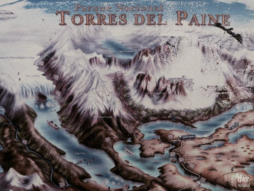Torres del Paine Chili A day in the world