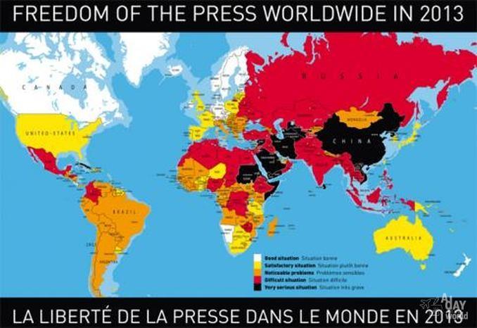 tour du monde de la presse