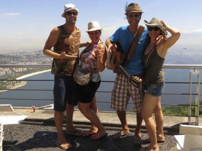 Tourner un clip au Pao de Azucar Brésil 2013