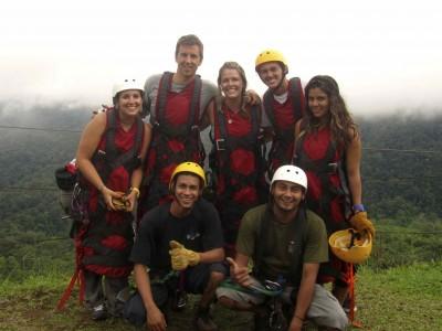 Superman à San Lorenzo au Costa Rica