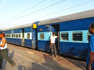 Train de nuit entre Agra et Varanasi