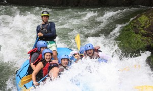Rafting dans le Rio Pacuare au Costa Rica