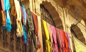 Le fort à pigeons de Jaisalmer au Rajasthan