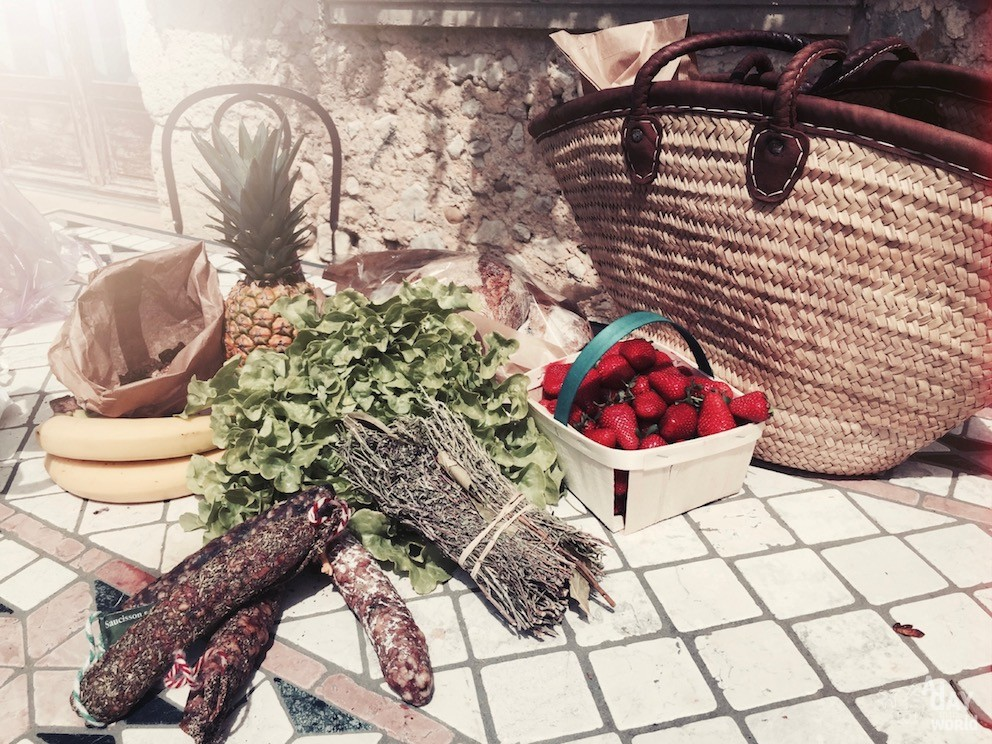 marché provence a day in the world
