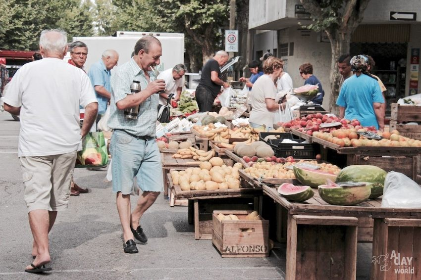 Mercado Montevideo A day in the world