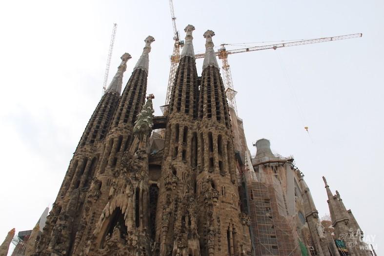 sagrada familia église barcelone