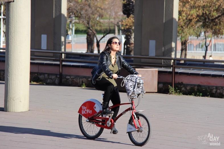barcelone en vélo