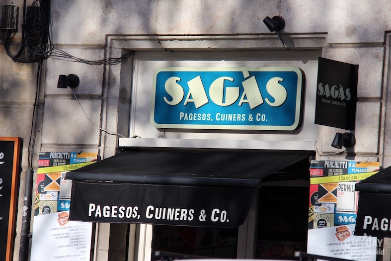 Sagas restaurant Barcelone