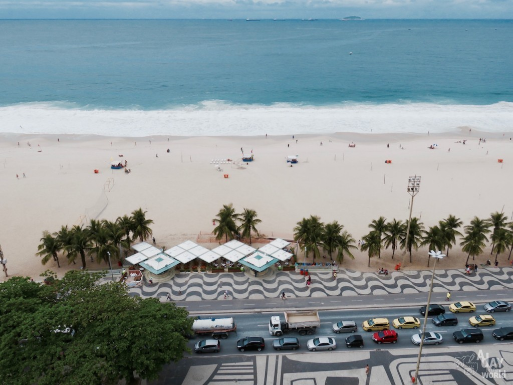Copacabana view City Guide Rio de Janeiro A day in the world
