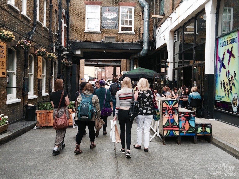 shoreditch city guide londres