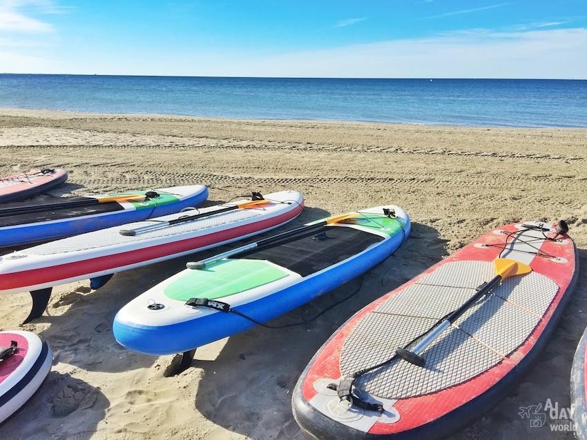 Paddle avec Sun Training Sport Montpellier