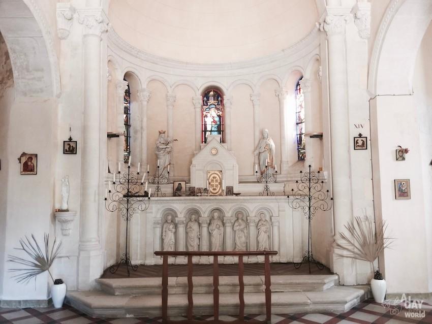 Domaine de Ribaute chapelle