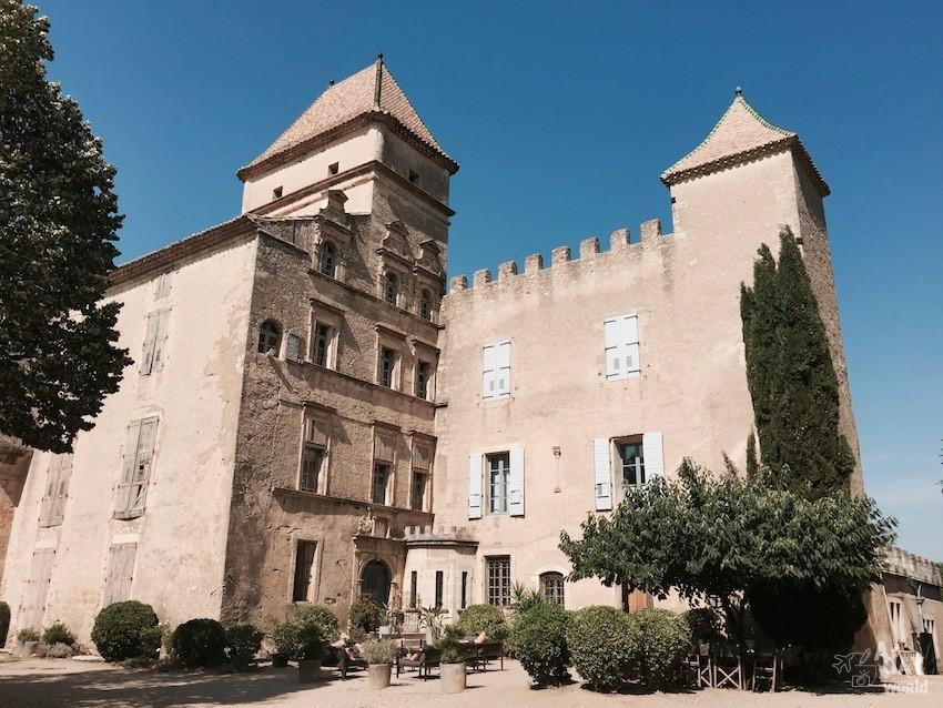 Domaine de Ribaute chateau