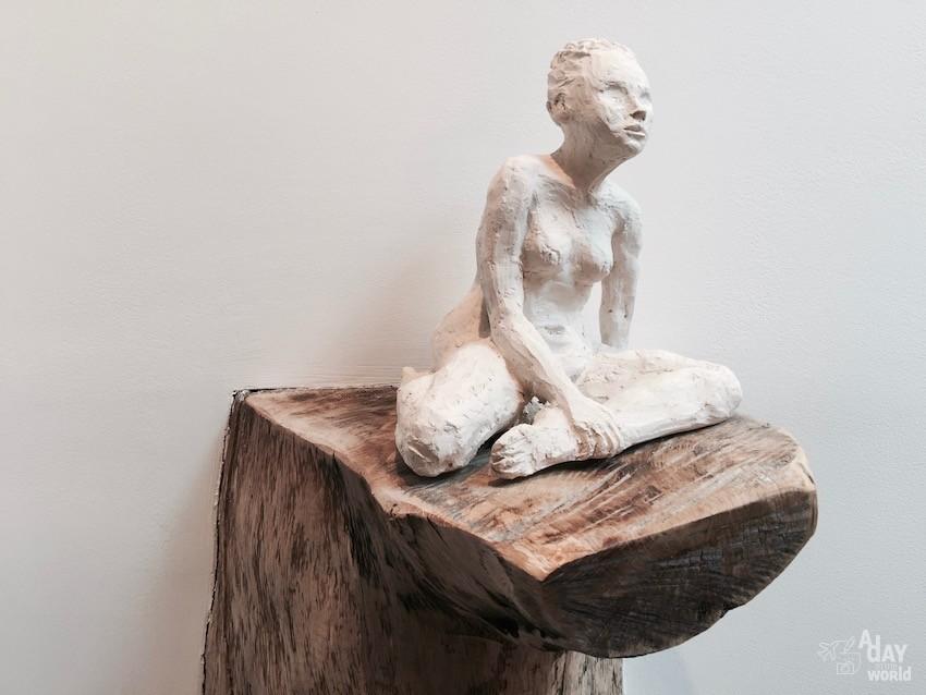 Domaine de Ribaute sculpture