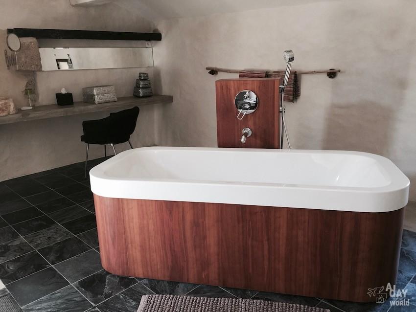 Domaine de Ribaute salle de bain