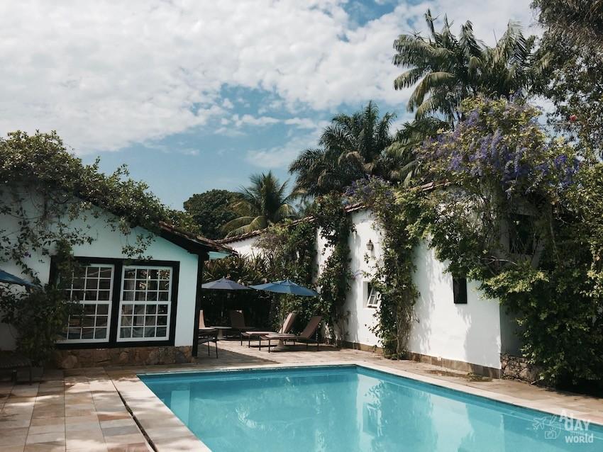 Pousada piscine Paraty Brésil