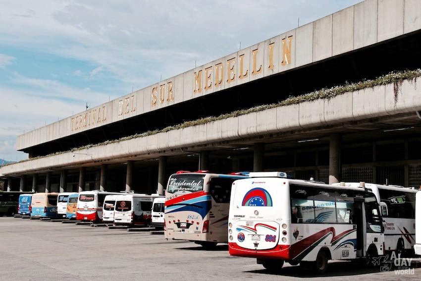 Bus Medillin Colombie