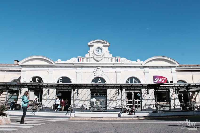 SNCF Intercites gare carcasonne
