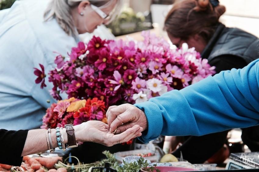 fleurs marché de carcassonne