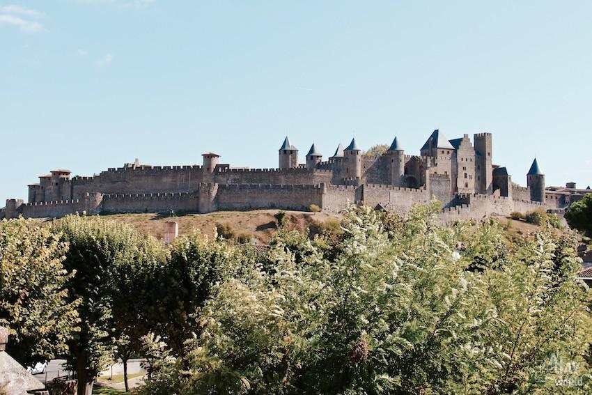 vue cité de carcassonne