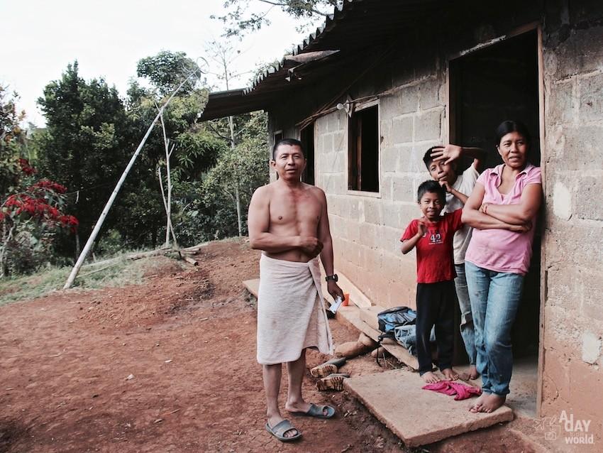 Famille indigène Cristiania Colombie