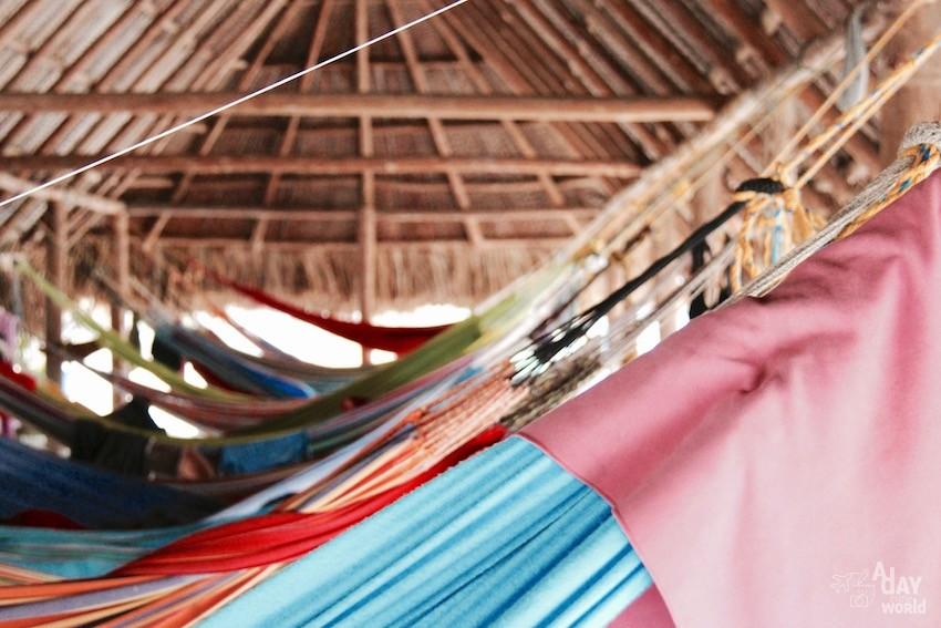dormir dans un hamac colombie tayrona