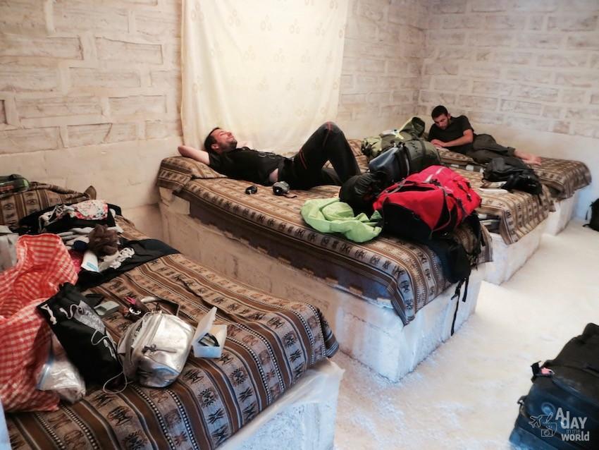 hotel de sel désert Uyuni Bolivie
