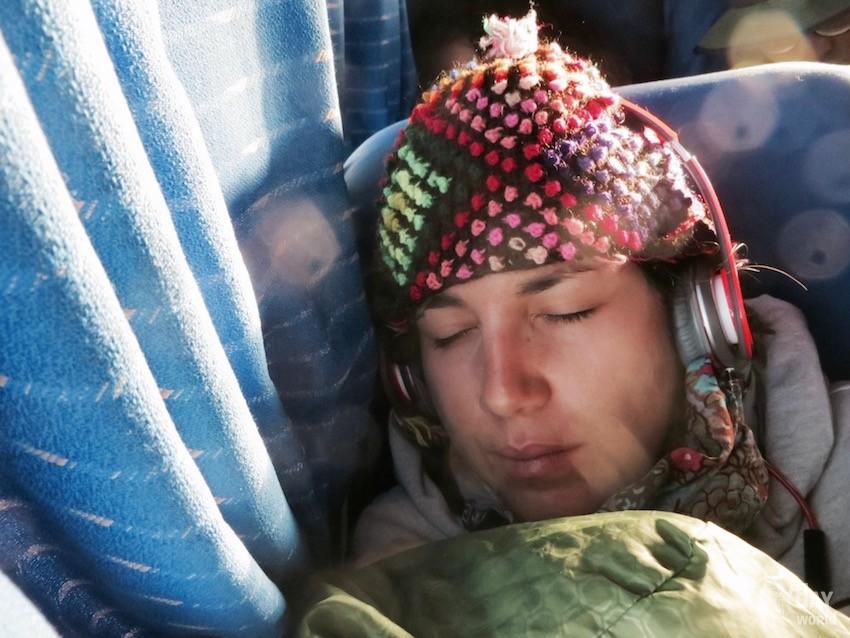 dormir dans un bus bolivie