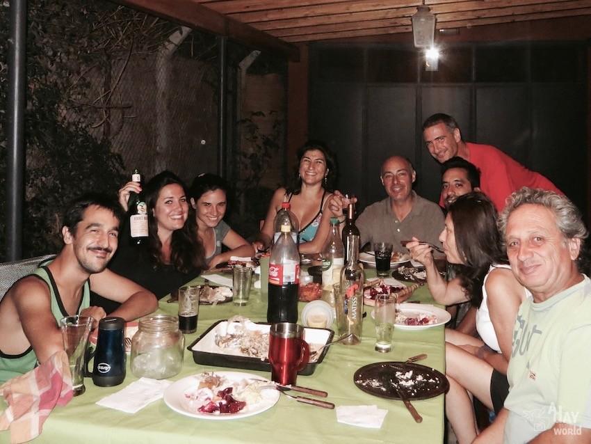 soirée couchsurfing argentine mendoza