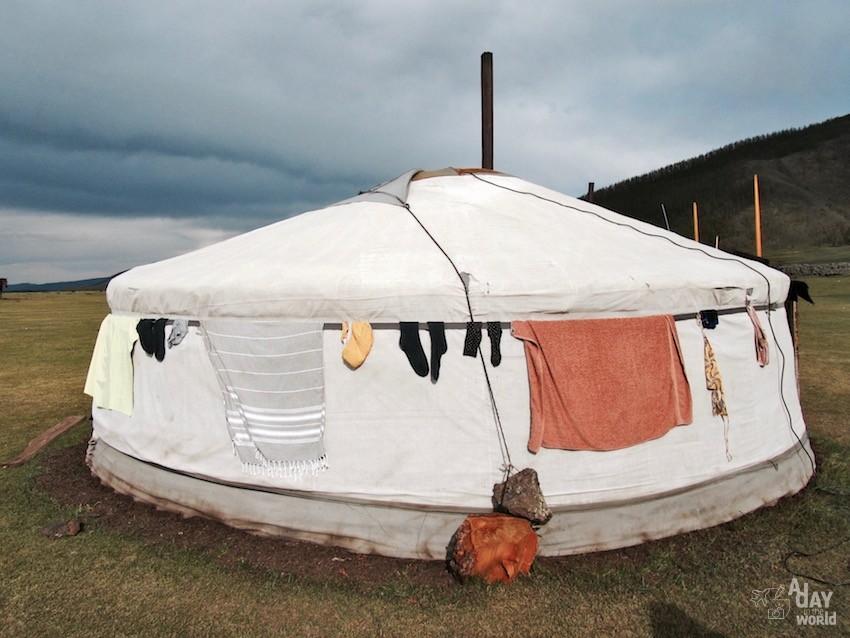 dormir dans un yourte mongolie