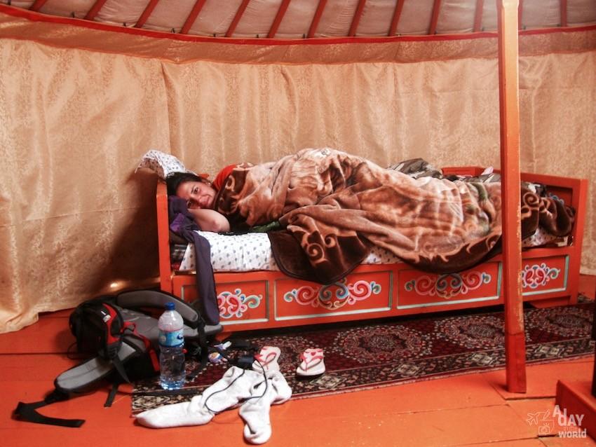 dormir dans une yourte mongolie