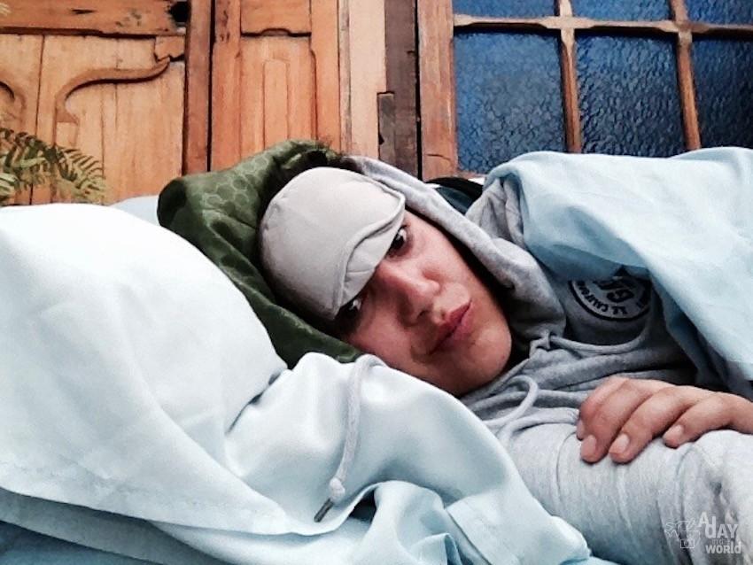 dormir canapé hotel bogota