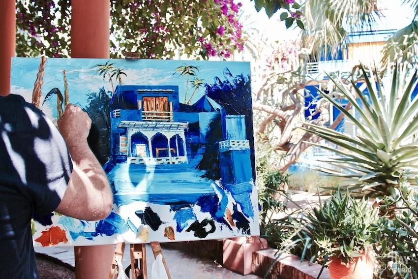 artiste-jardin-majorelle-marrakech
