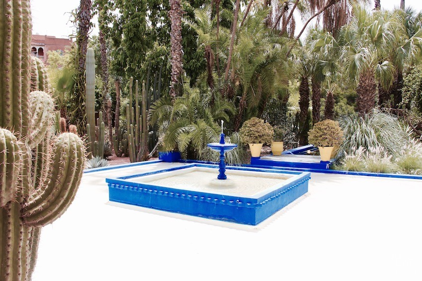 fontaine-jardin-majorelle-marrakech