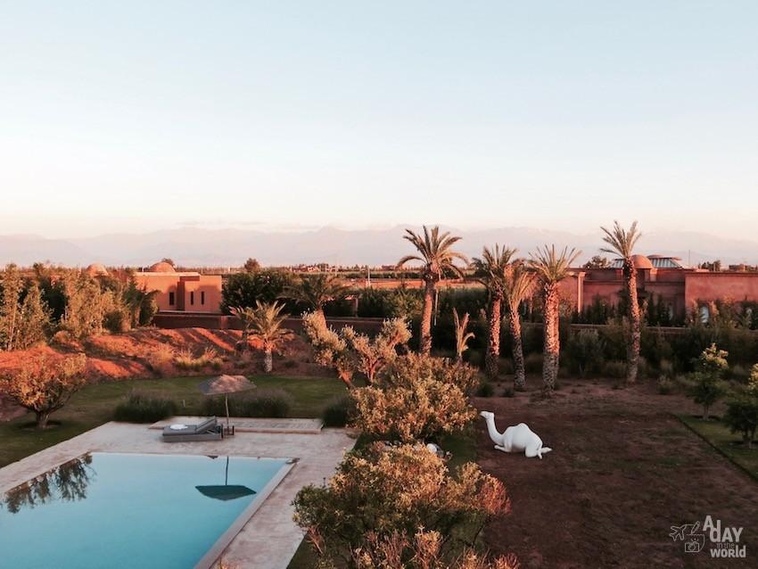 vue-atlas-hotel-fellah-marrakech