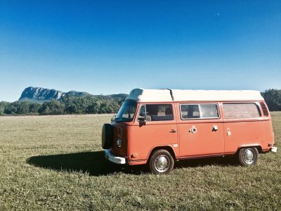 Combi Volkswagen au Pic St Loup!