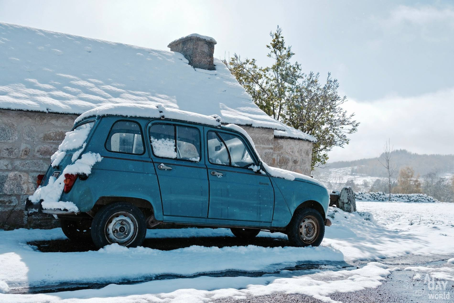 4L neige