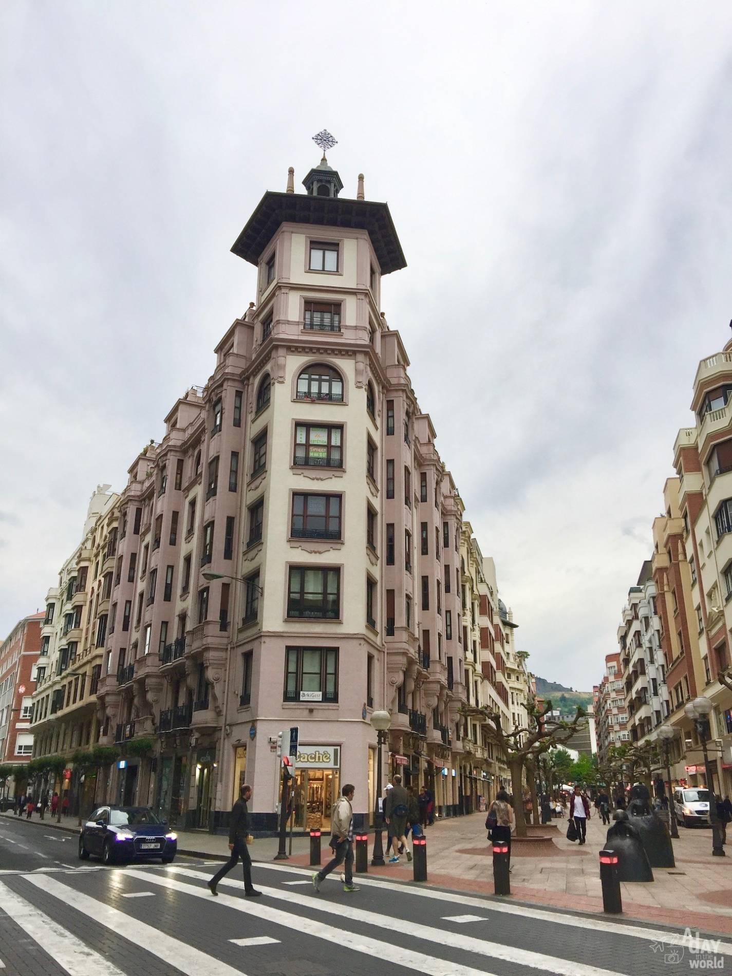 architecture bilbao
